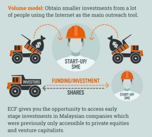 How does equity crowdfunding works
