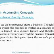 Main Accounting Concepts