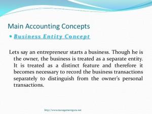 accounitng concepts