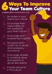 6 Ways to improve your team culture