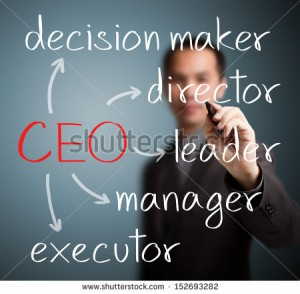 A chief executive officer (CEO) is generally the most senior corporate officer (executive) or administrator in charge of managing a for-profit or non-profit organization.