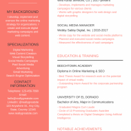 How To Write a Creative Resume & Get a Job