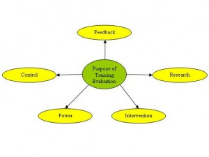 Evaluation of trainees, trainers, programme, data collection and feedback