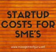 Startup Costs for SME's