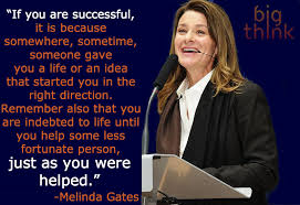 Melinda Gates, most popular female entrepreneur