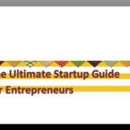 The Startup Guide for Entrepreneurs