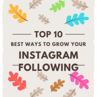 10 Best Ways to Grow Your Instagram Following