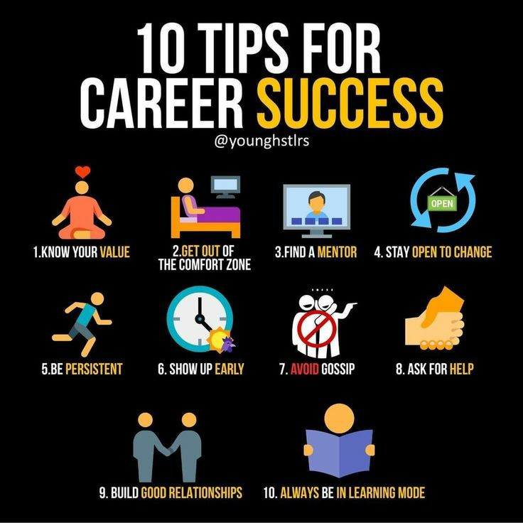 10 tips for career success