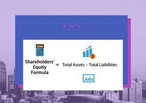 Shareholders' equity formula