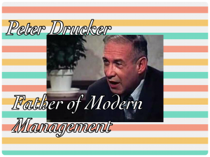 Popular quotes from Peter Drucker