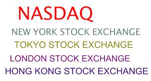 popular stock exchanges