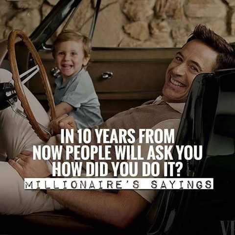 How do I acquire the millionaire mindset