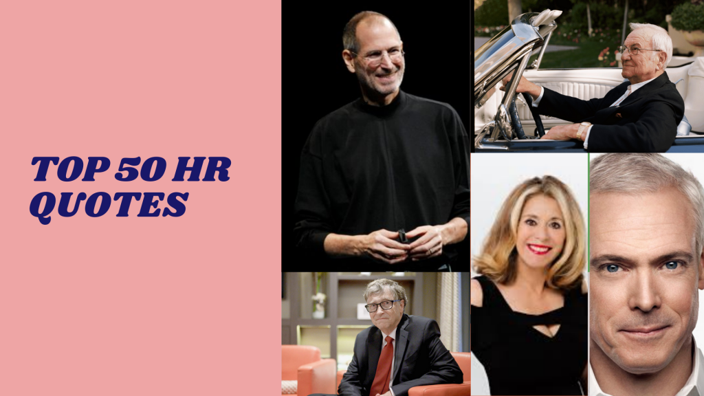 top 50 hr quotes