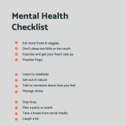 How to Take Care of Your Mental Health